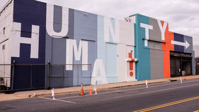 Humanity Mural at Union Market 1