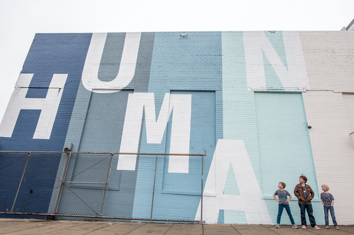 Humanity Mural at Union Market 3
