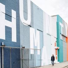Humanity Mural at Union Market