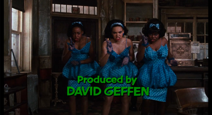 Little Shop of Horrors (1986) opening credits 2