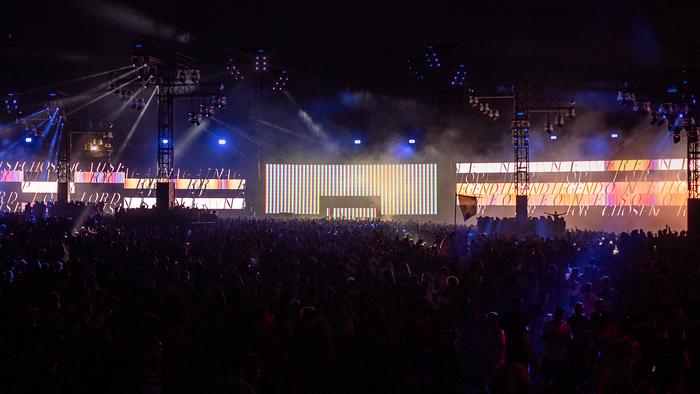 Live visuals at Dour Festival 2019 3