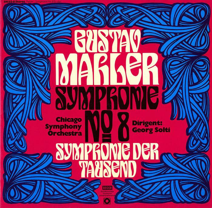 Gustav Mahler, Symphonie Nº8 (Decca/ Deutscher Schallplattenclub) album art 1