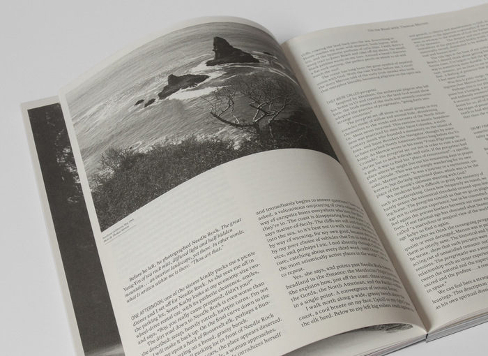 Article set in Rosart and GT Super Italic, printed in grey paper.