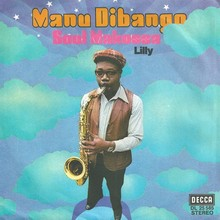 "Manu Dibango – ""Soul Makossa"" / ""Lily"" German and Belgian single sleeves"
