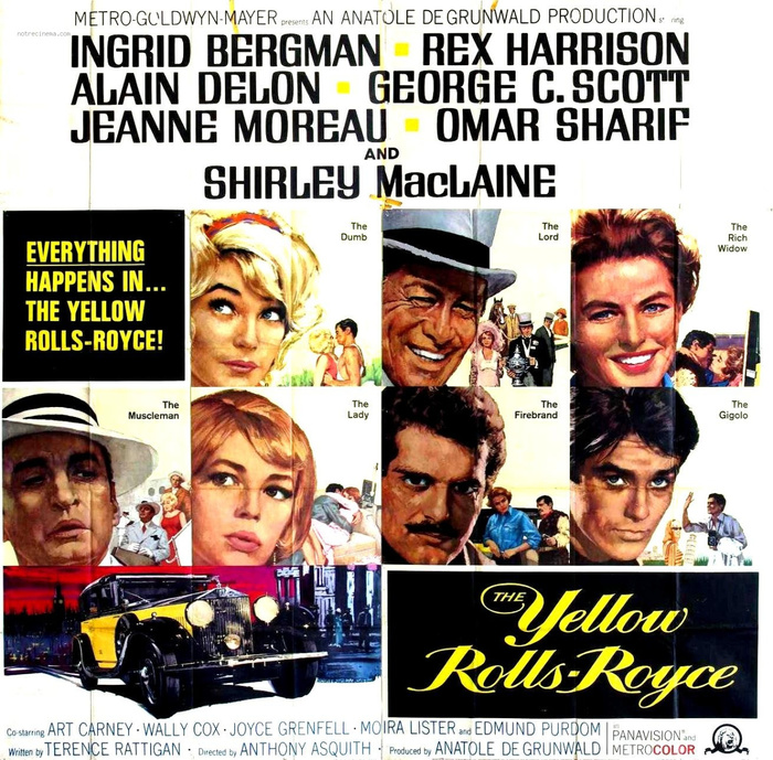 The Yellow Rolls-Royce (1964) movie posters 1
