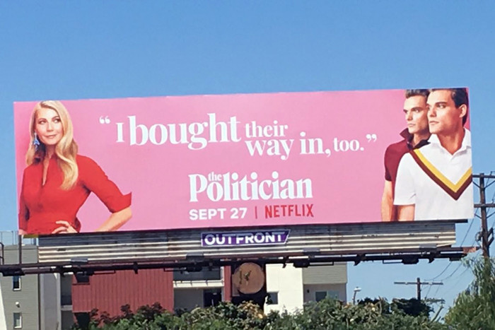 """Netflix appears to be trolling the University of Southern California over its role in the college admissions scandal with billboards for a new show that were placed near the school, according to a report Thursday."" — New York Post"