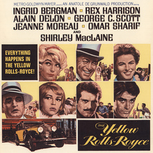 <cite>The Yellow Rolls-Royce</cite> (1964) movie posters