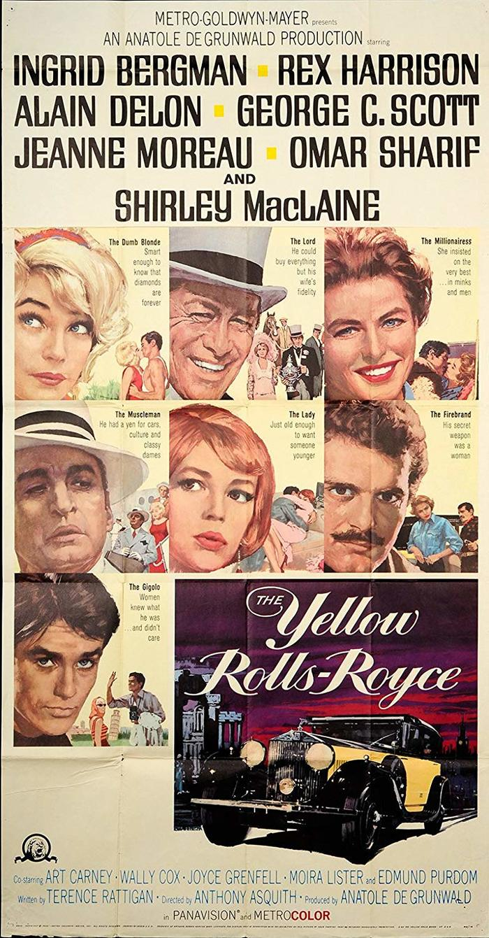The Yellow Rolls-Royce (1964) movie posters 3