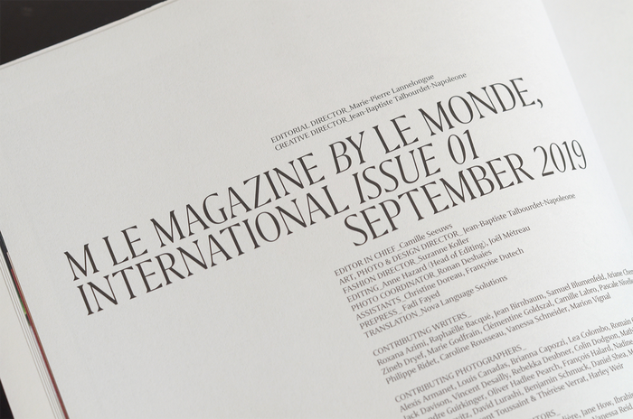M Le Magazine Du Monde International, issue 01, 2019 2