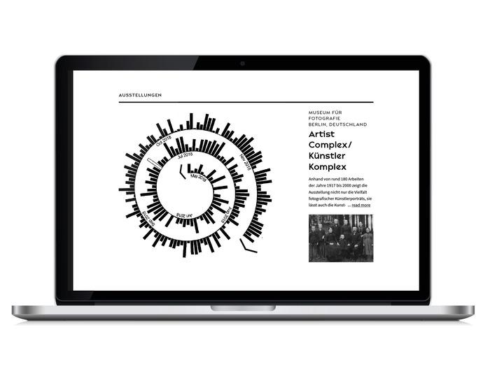 August Sander Stiftung website 2