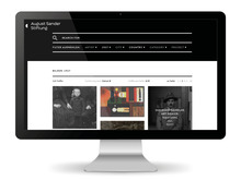 August Sander Stiftung website