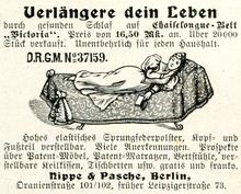 """""""Verlängere dein Leben"""" ad by Nippe & Pasche, Berlin"""