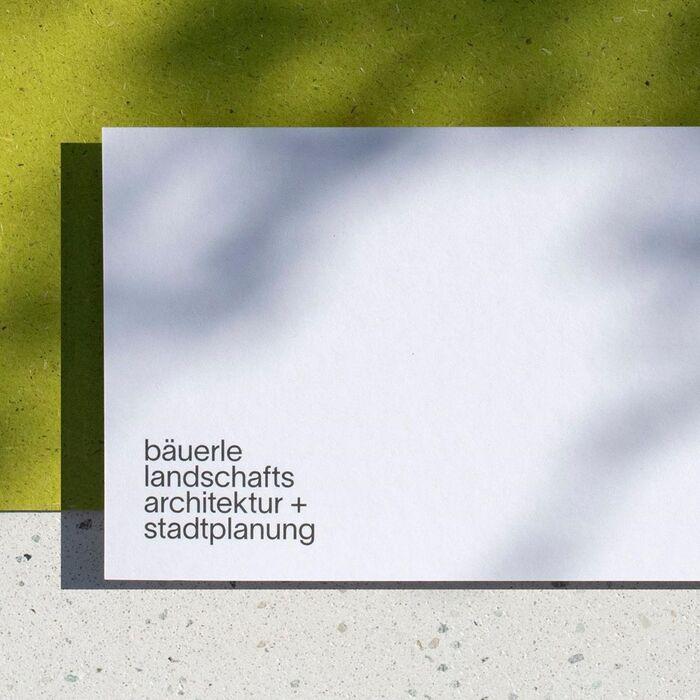 Bäuerle Landschaftsarchitektur + Stadtplanung 2
