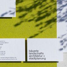 Bäuerle Landschaftsarchitektur + Stadtplanung