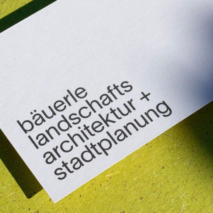 Bäuerle Landschaftsarchitektur + Stadtplanung 1