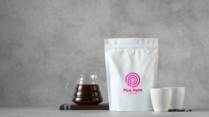 Pink Palm Coffee 4