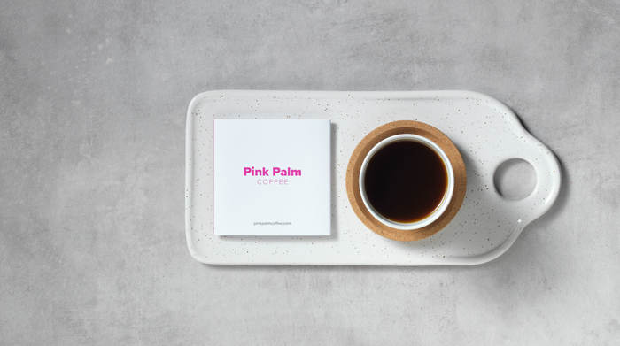 Pink Palm Coffee 5