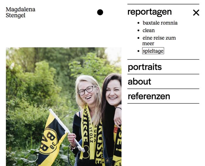 Magdalena Stengel website 3
