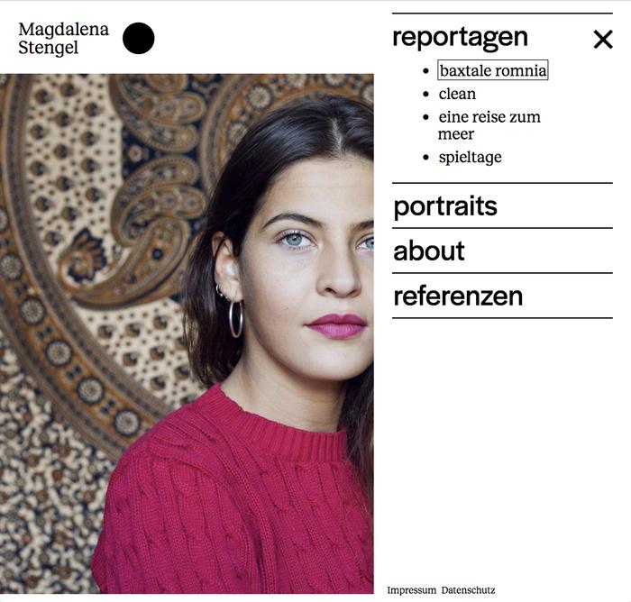 Magdalena Stengel website 1