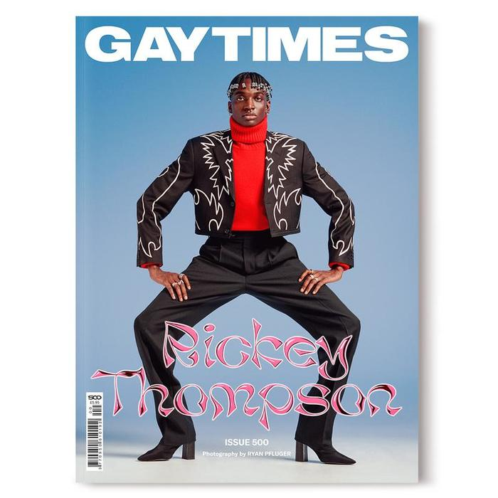Gay Times magazine, issue 500 2