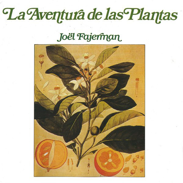 The Spanish version on RCA Records features an adaptation of the original French cover shown above. On this re-release from 1990, the line in Futura was removed. While the artist's name in ITC Bookman was maintained, the title uses a different version of Bookman, with slanted letterforms. The differences are most striking in the letters a or e.