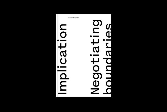 Implication. Negotiating boundaries on damaged Earth 1