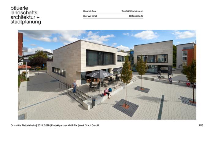 Bäuerle Landschaftsarchitektur + Stadtplanung 4