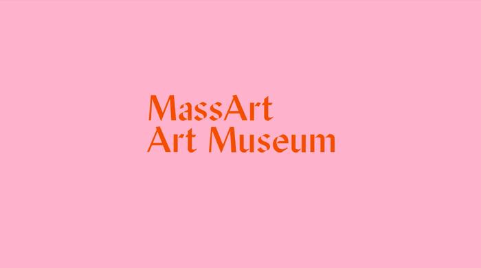 MassArt Art Museum identity 1