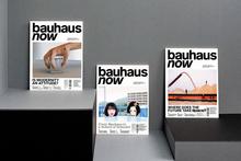 <cite>bauhaus now</cite> magazine