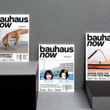 <cite>bauhaus now</cite> magazine