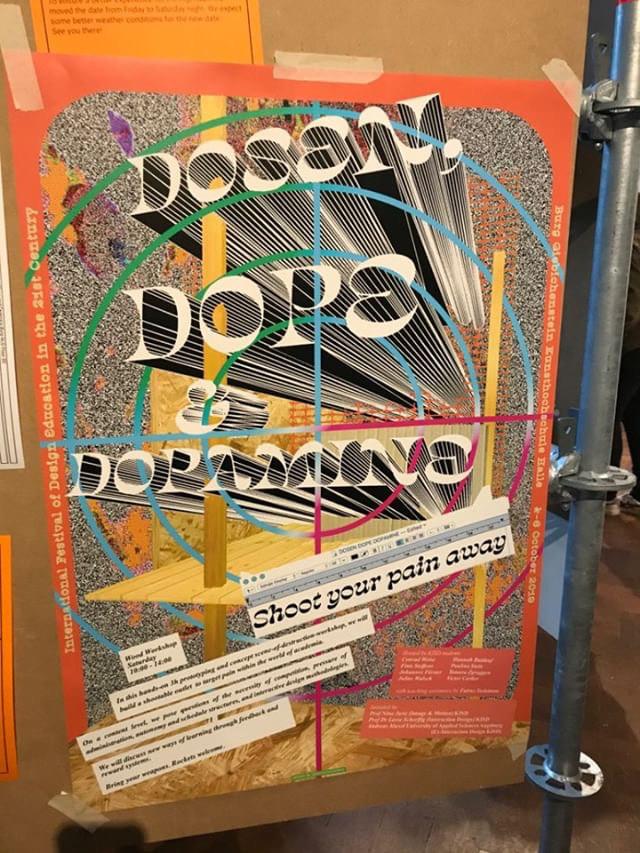"""Dosen, Dope & Dopamine"" poster 1"