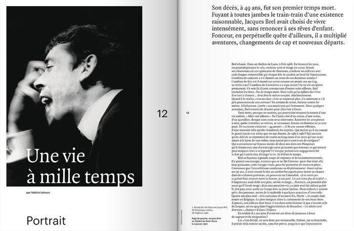"Télérama Hors-Série Nº 214, ""L'aventure Brel"", Sept 2018 2"