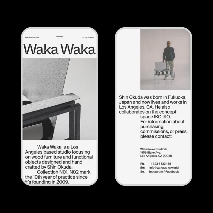 Waka Waka, Collection N01 8
