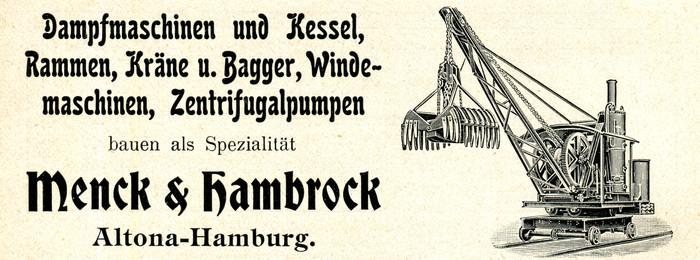 Menck & Hambrock ad (1906)