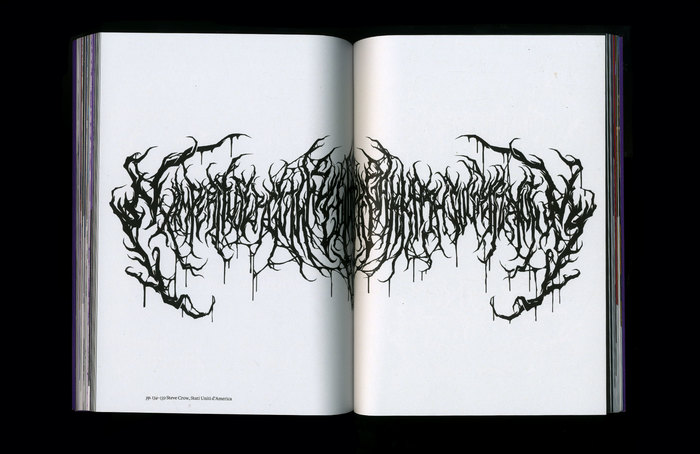 Lettering by Steve Crow.