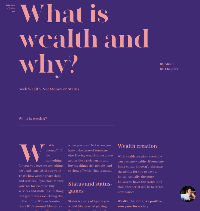 Principles of Wealth 3