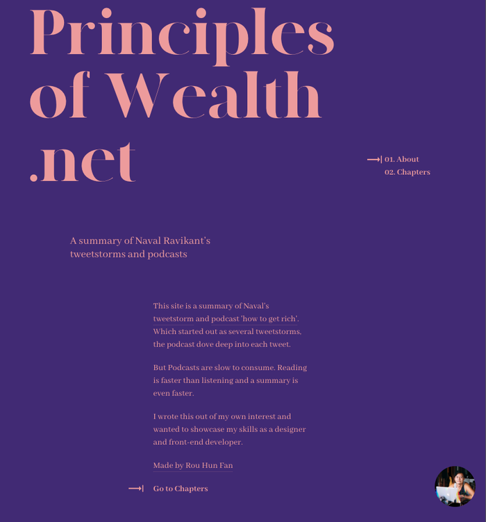 Principles of Wealth 1