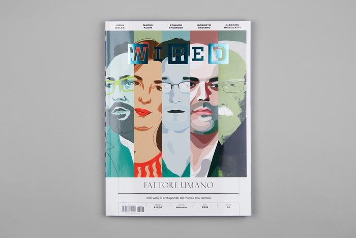 """Wired Italia, n. 90, """"Fattore umano"""" 1"""