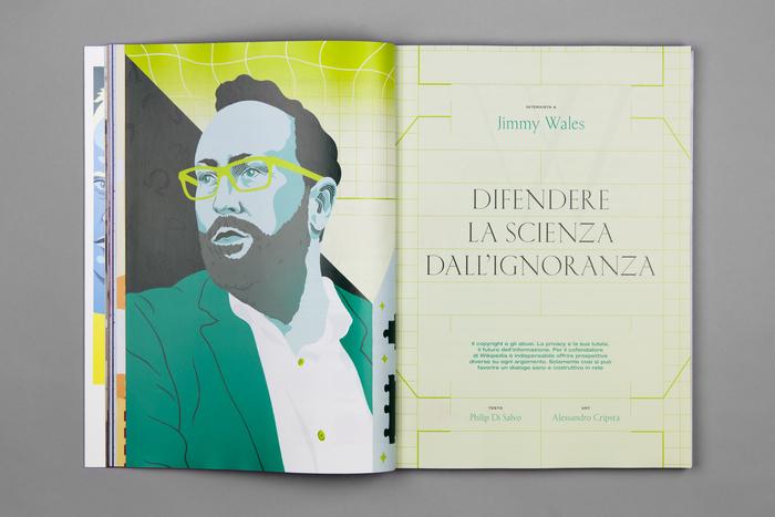 """Wired Italia, n. 90, """"Fattore umano"""" 3"""