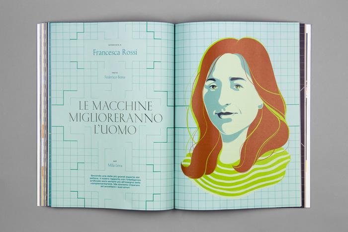 """Wired Italia, n. 90, """"Fattore umano"""" 8"""