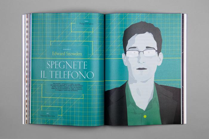 """Wired Italia, n. 90, """"Fattore umano"""" 7"""