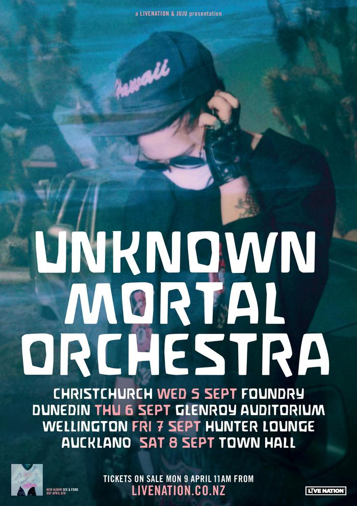 Poster for New Zealand / Australia tour 2018.