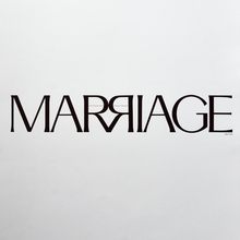"""Marriage"" poster"