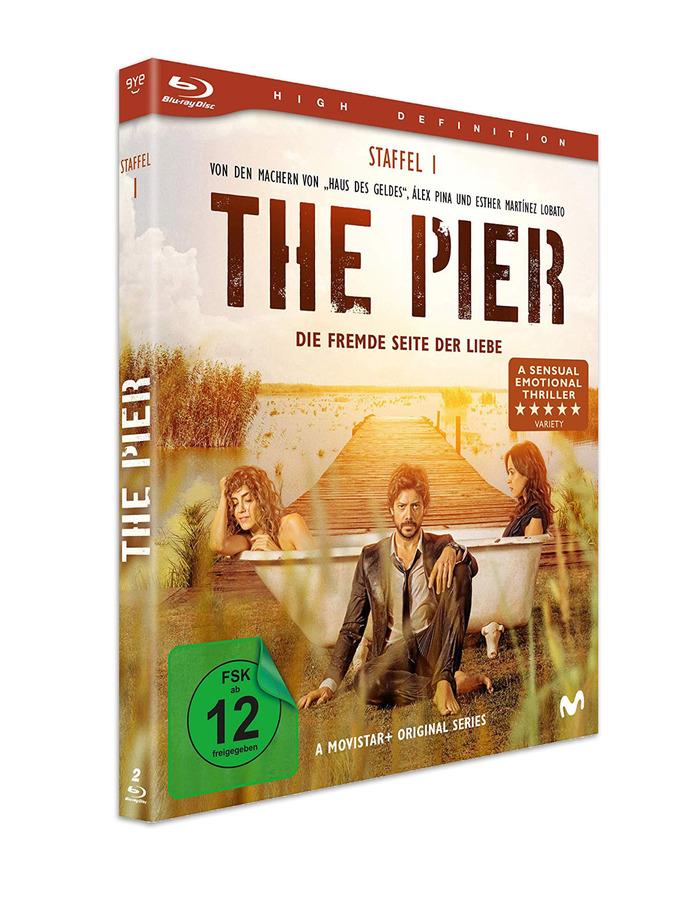German Blu-ray Disc packaging.
