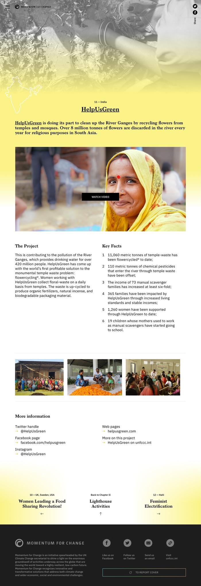 Momentum for Change 2018 Report 5