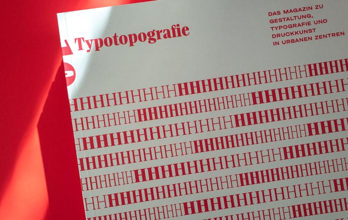 Typotopografie magazine 10, Hamburg 1