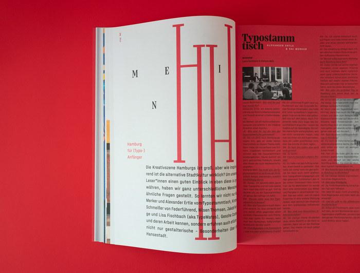 Typotopografie magazine 10, Hamburg 7