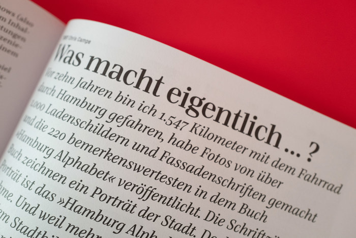 Typotopografie magazine 10, Hamburg 15