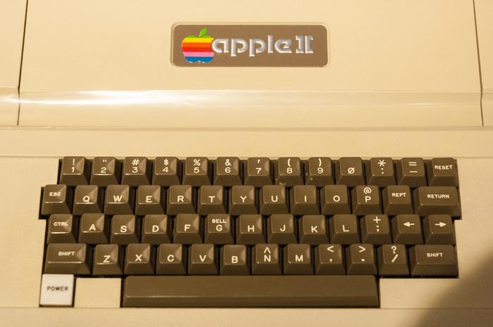 Logo on the Apple ][ (1977)