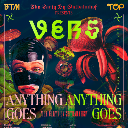 The Party by Ostbahnhof presents VERS: Anything Goes, October 2019